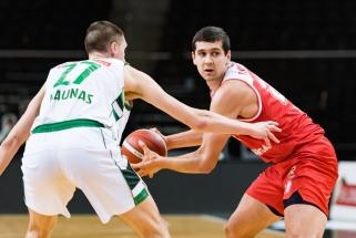 NKL savaitės MVP – Beniušis, penketuke – ir asmeninius rekordus fiksavęs Vasylius