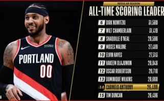 "C.Anthony aplenkė ""Spurs"" legendą"