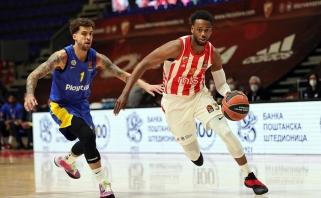 """Įsibėgėjęs """"Maccabi"""" sustabdytas Belgrade"""