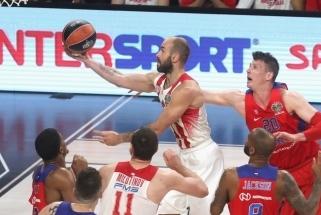 """Prakeiksmas neįveiktas: """"Olympiacos"""" pranoko CSKA ir žengė į Eurolygos finalą"""