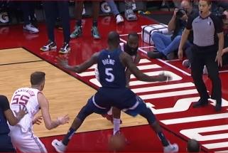 J.Hardeno perdavimas varžovui tarp kojų - tarp NBA gražiausių momentų