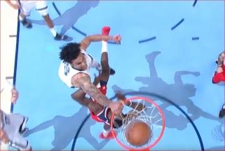 J.Valančiūno bendraklubio skrydis - gražiausias NBA nakties epizodas