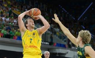 Lietuvos rinktinės varžovei Australijai padėti sutiko dar vienas NBA žaidėjas