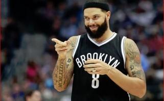 """Nuo 2017 metų nežaidžiantis D.Williamsas antradienį gavo paskutinę algą iš """"Nets"""""""