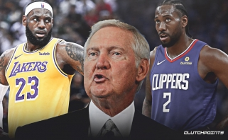 """Legendinis J.Westas: """"Lakers"""" ir """"Clippers"""" dvikovą Vakarų finale būtų neįtikėtinas įvykis krepšinyje"""