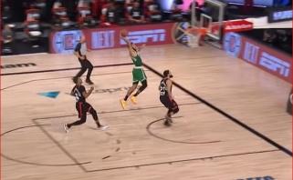 """""""Celtics"""" žvaigždė J.Tatumas sukūrė du gražiausius NBA nakties momentus"""