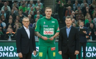 Apdovanojimą gavęs R.Javtokas: tik baigęs karjerą matysiu, ką norėsiu veikti
