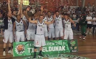 """""""Lietuviškas"""" Bilbao klubas laimėjo turnyrą Ispanijoje"""