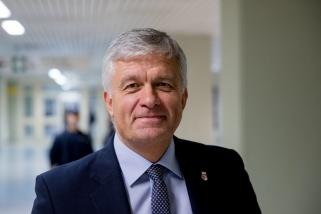 """""""Lietuviško"""" Krasnodaro klubo viceprezidentas G.Rutkauskas taip pat palinkėjo sveikatos išvykstantiems amerikiečiams"""