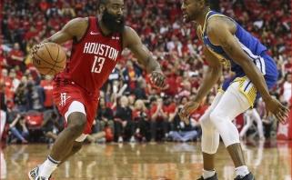 """Maksimali intriga: čempionus antrą kartą iš eilės palaužę """"Rockets"""" išlygino serijos rezultatą"""