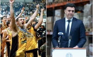Sėkmės pavyzdžiu tapusios Graikijos kovai su pandemija vadovauja buvęs krepšininkas