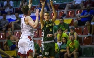 Europos jaunių čempionato starte lietuviai turėjo pripažinti rusų pranašumą