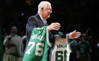 """J.Crawfordas: NBA """"šeštojo žaidėjo"""" titulas turi būti pavadintas J.Havličeko vardu"""