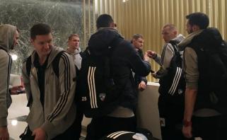 """""""Neptūno"""" treneris K.Maksvytis prieš dvikovą Graikijoje: turime du tikslus"""