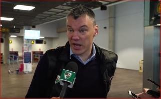 Š.Jasikevičius: neturime atkrintamųjų patirties, reikia dar labiau sužvėrėti