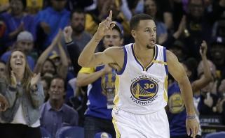 Prieš NBA startą - dar vienas S.Curry ir K.Duranto šou (visi rezultatai)