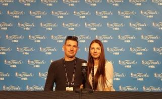 Stebėti NBA finalo nesutrukdė ir neteisinga pavardė pase