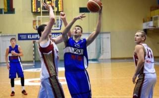 LSKL: čempionai Klaipėdoje iššvaistė 15 taškų ir pralaimėjo (rezultatai, komentarai)