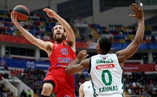 Pagrindinis CSKA atakų organizatorius patyrė traumą