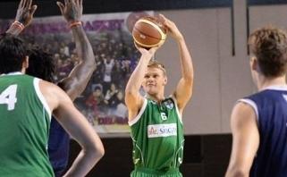 Rezultatyviai žaidusio B.Veikalo ekipa nepasigailėjo R.Kaukėno ir D.Lavrinovičiaus klubo