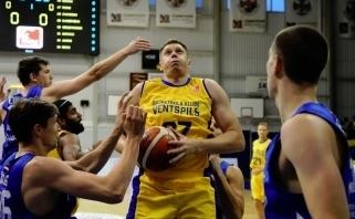 Latvijos grandų akistatoje - A.Labucko klubas neprilygo J.Juciko ekipai