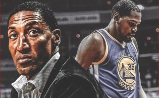 """K.Durantas atsisakė pratęsti kontraktą, S.Pippenas įsitikinęs, kad jis liks """"Warriors"""""""