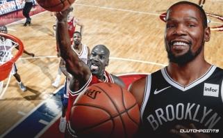 """K.Durantas: mano mėgstamiausias momentas Jordano karjeroje - jo atėjimas į """"Wizards"""""""