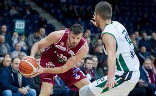 Nesenstantis K.Lavrinovičius - antrą savaitę iš eilės LKL MVP