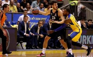 """""""Maccabi"""" privertė vėl suklupti Eurolygos vicečempionus (video)"""