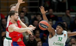 Traumą patyrė vienas CSKA lyderių