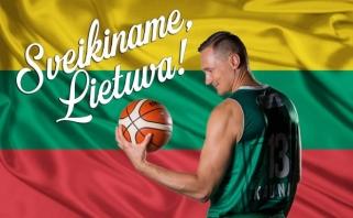 Jautriame vaizdo klipe – krepšininkų jausmai Lietuvai