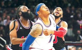 """""""Rockets"""" neužtenka rekordinio kontrakto su J.Hardenu - nusitaikė ir į C.Anthony"""