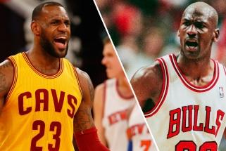 J.Rose'as: Jordanas čempionu tapo 6 kartus. Kiek titulų pas LeBroną?