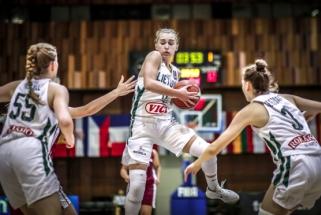 Europos čempionate lietuvės surengė galingą spurtą trečiajame kėlinyje, bet pralaimėjo latvėms