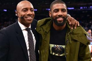 """NBA ekspertas sulaukia """"trolių"""" linkėjimų mirti dėl Irvingo pozicijos gynimo"""