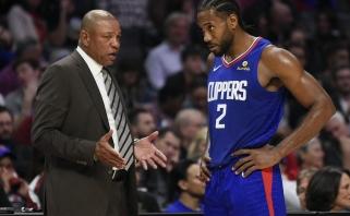 """""""Clippers"""" strategas pasiūlė savo NBA sezono pratęsimo variantą"""