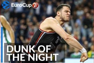 Ch.Kramerio dėjimas - geriausias Europos taurės sezone, Top 10 - R.Giedraitis ir D.Suttonas
