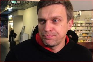 """D. Adomaitis prieš išvyką į Belgradą: """"Gynyba baudos aikštelėje. Tai yra svarbiausia"""""""