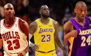 Metta Sanidorfas-Artestas sulygino Jordaną, Kobe ir LeBroną