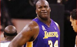 """Sh.O'Nealas: čempioniškasis """"Lakers"""" įveiktų MJ """"bulius"""", man tik reiktų pataikyti baudas"""
