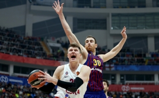 A.Voroncevičius: manau, CSKA subūrė ne mažiau konkurencingą sudėtį