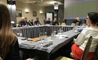 LKL susitikime su sirgaliais - siūlymas dėl licencijuotos pirotechnikos ir aktyvios diskusijos