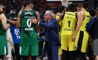 """Ž.Obradovičius nusilenkė """"Žalgirio"""" aistruoliams: jie yra tai, ko reikia Europos krepšiniui"""