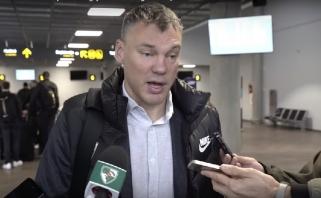 """Š.Jasikevičius apie """"Budučnost"""": """"Tai klasikinė serbų komanda"""""""