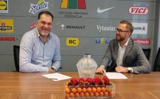 """Lietuvos krepšinio federacijos rėmėjų gretas papildė """"Adikopas"""""""
