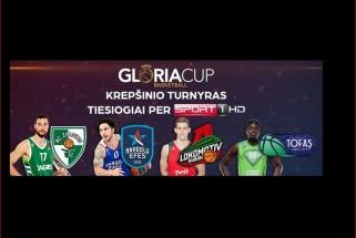 """""""Gloria Cup"""" turnyras su """"Žalgiriu"""" ir Eurolygos čempionais – per nemokamą TV!"""