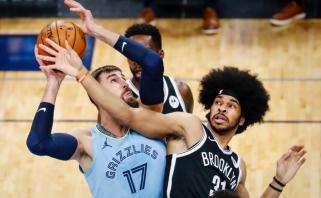 Valančiūnas dėl NBA COVID-19 protokolo nežais 10 dienų