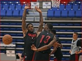 """""""Heat"""" krepšininkai surengė pirmą treniruotę (U.Haslemo komentaras)"""