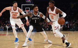 """""""Knicks"""" be neregistruoto M.Kuzminsko pralaimėjo Niujorko derbį (rezultatai)"""