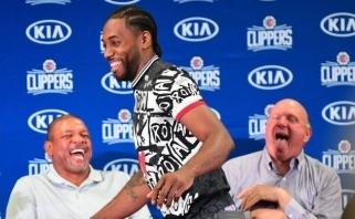 """Clippers"" neketina suteikti K.Leonardui tiek poilsio, kiek turėdavo ""Raptors"""
